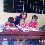 Sinh viên Cao Đẳng Việt Mỹ đồng hành cùng chương trình Ấm Áp Hậu Giang