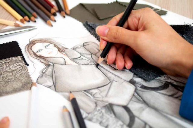 phác thảo ý tưởng trong thiết kế thời trang
