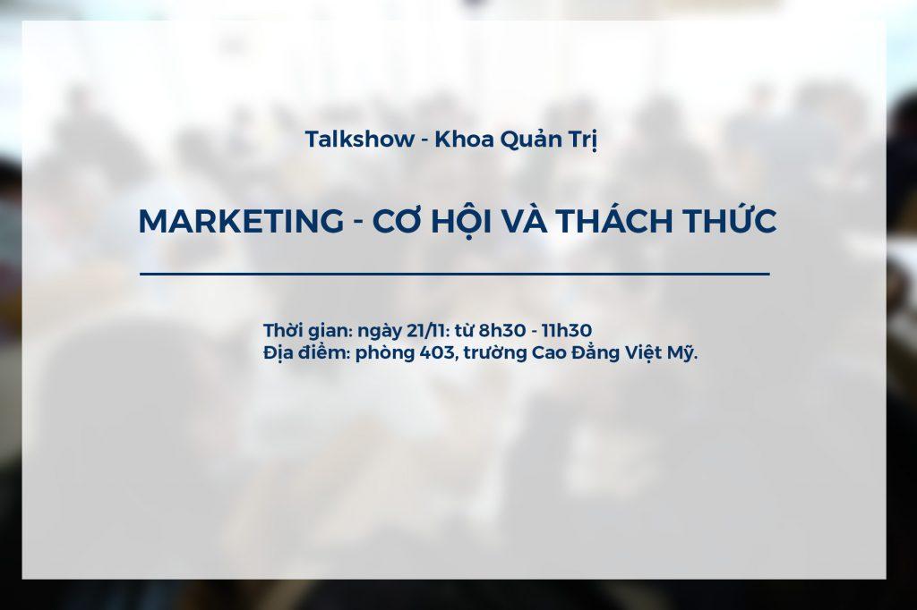 talkshow marketing co hoi va thach thuc