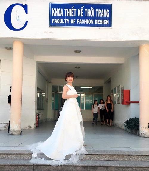 Thiết kế thời trang của sinh viên Cao đẳng Vinatex