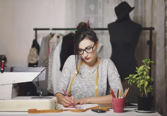 phác thảo bản vẽ thiết kế thời trang