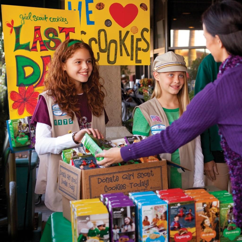 Girls-Selling-Cookies