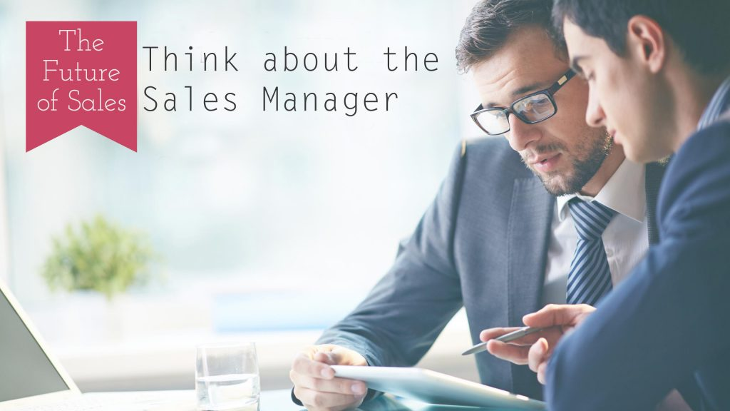 think about sales manager