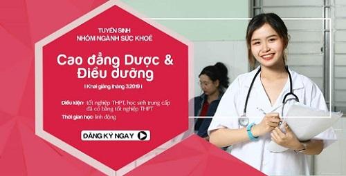 Điểm xét tuyển cao đẳng điều dưỡng trường Việt Mỹ.