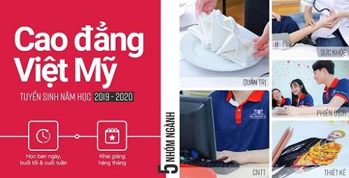 Cao đẳng Việt Mỹ - Đơn vị hỗ trợ uy tín cho học sinh, sinh viên tìm kiếm học bổng