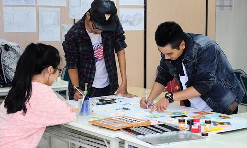 Thiết kế là ngành đòi hỏi sự năng động, sáng tạo
