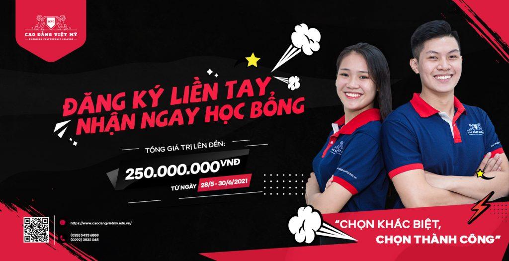 Cao Đẳng Việt Mỹ - Trường đào tạo chất lượng với nhiều cơ hội việc làm cho sinh viên tốt nghiệp.